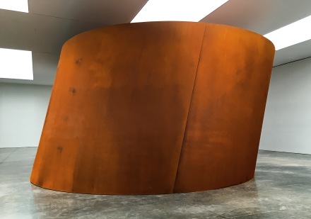 Richard Serra, NJ-1 (2016), via Art Observed