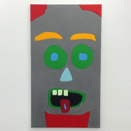 Sadie Benning, Green God (2015), via Art Observed