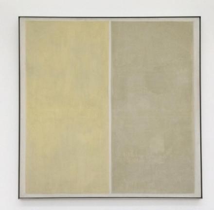 Agnes Martin, Heather (1958), via Art Observed