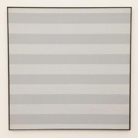 Agnes Martin, Untitled #1 (1989), via Art Observed