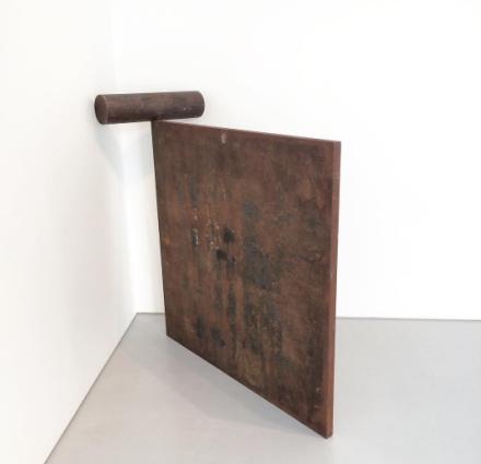 Richard Serra, Malmo Roll (1984), via Art Observed
