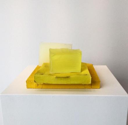 Rachel Whiteread, Yellow Edge (2007-2008), via Art Observed