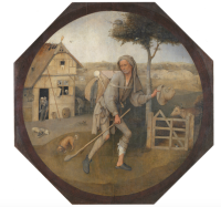 Hieronymus Bosch, The Wayfarer, via NY Books