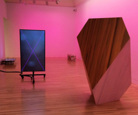 Shahryar Nashat at Made in LA (Installation View), via Art Observed