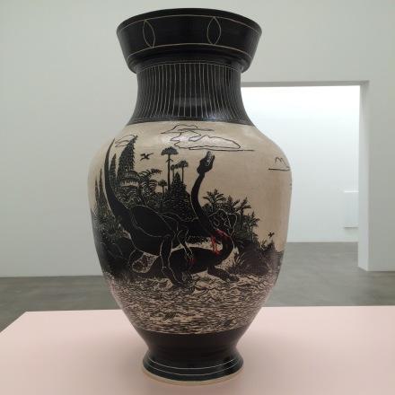 Shio Kusaka, (Dinosaur 35) (2016), via Art Observed