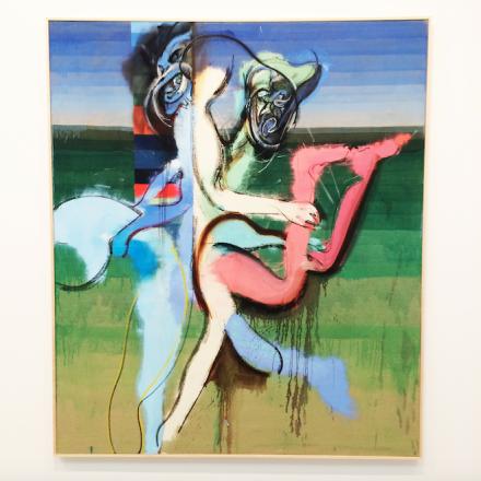 Daniel Richter, a competition in sensitivity (2016), via Art Observed