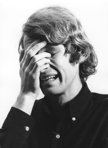 Bas Jan Ader, I'm too sad to tell you (1971), via Simon Lee