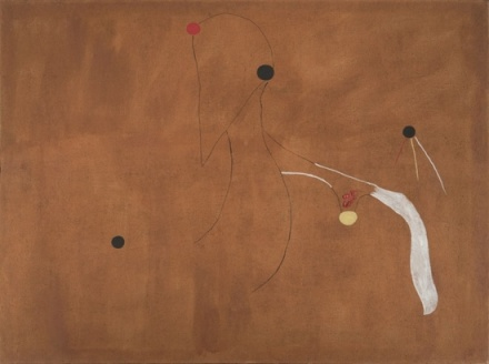 Joan Miró, Painting (Birds)  (1927), via Hauser and Wirth