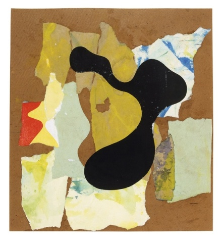 Hans Arp, Papier déchiré (Torn Paper) (1947), via Hauser and Wirth