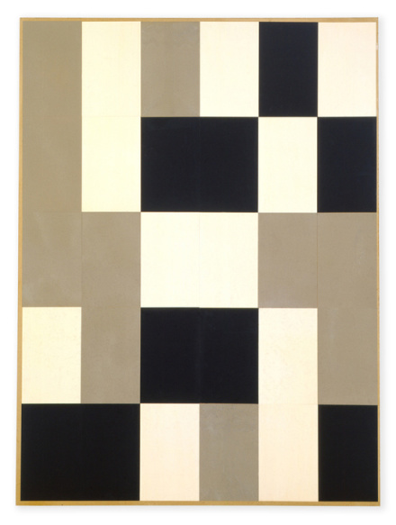 Hans Arp, Geometrische Collage (Collage géometrique) (1918), via Hauser and Wirth
