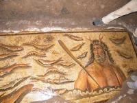 A seized, fake mosaic, via Art Newspaper