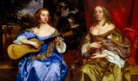 Sir Peter Lely's Two Ladies of the Lake Family, via The Guardian