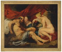 """Lot and His Daughters,"""" by Peter Paul Rubens, via NYT"""