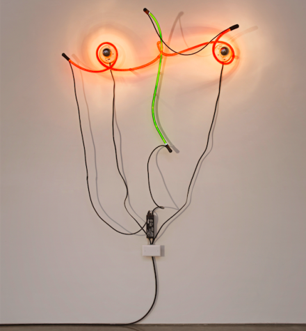 Kieth Sonnier, Neon Wrapping Incandescent (1969)