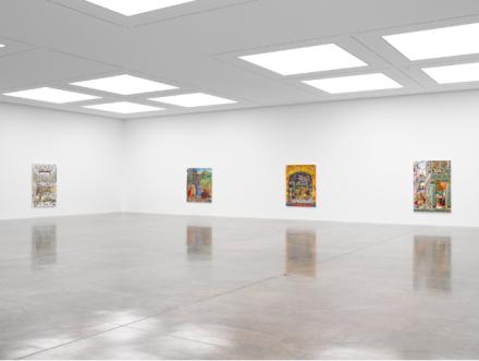 Raqib Shaw at White Cube (Installation View), via White Cube