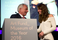 Martin Roth with the Duchess of Cambridge, via The Guardian