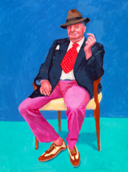 David Hockney, Barry Humphries, 26th, 27th, 28th March (2015)