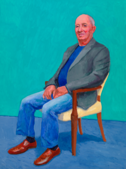 David Hockney, David Juda, 22nd, 23rd, 25th March (2015)