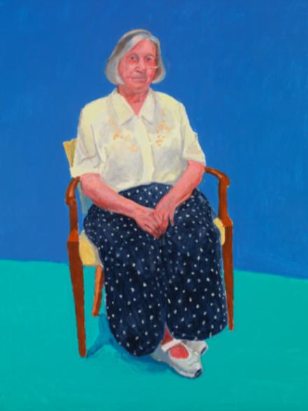 David Hockney, Margaret Hockney, 14th, 15th, 16th August, 2015