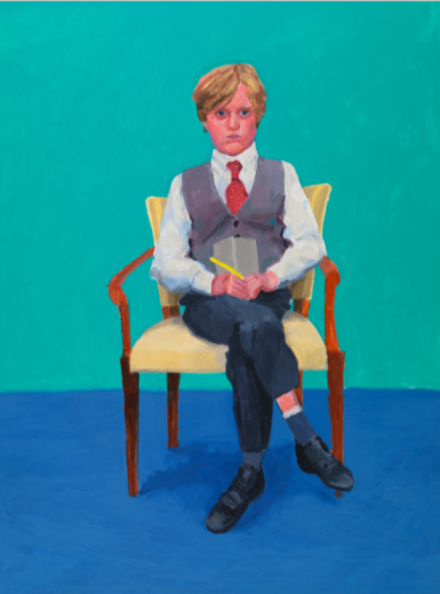 David Hockney, Rufus Hale, 23rd, 24th, 25th November (2015)