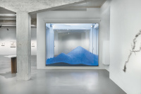 Maya Lin: Rivers and Mountains, installation view, Ivorypress, Madrid, 2014