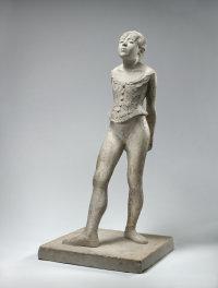 Degas's Little Dancer Plaster, via NYT