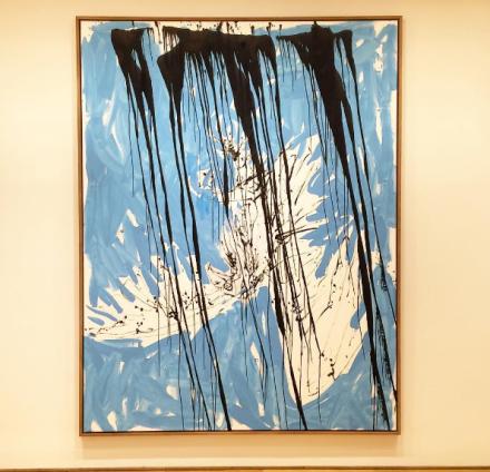 Georg Baselitz, Gute Hoffnung (2010), via Art Observed