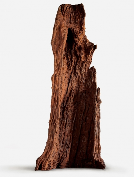 Ai Weiwei, Iron Tree Trunk (2015), via Max Hetzler