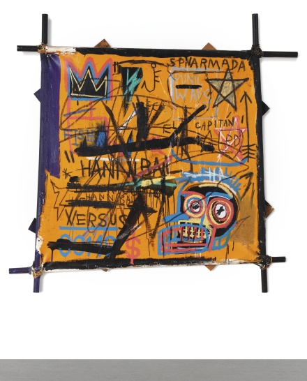 Jean-Michel Basquiat, Hannibal (1982), via Sotheby's