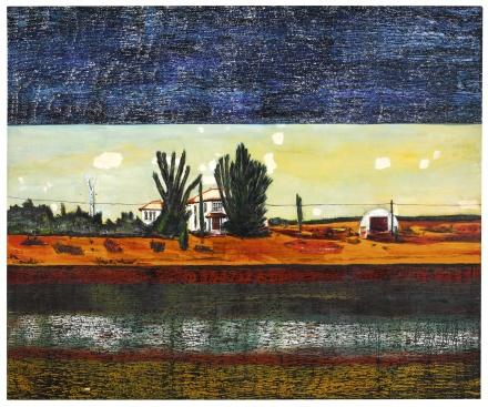 Peter Doig, Grasshopper (1990), via Sotheby's