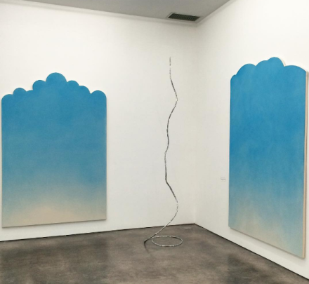 Ugo Rondinone, the sun at 4pm (Installation View), via Art Observed