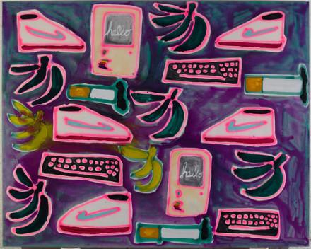 Katherine Bernhardt, Untitled (2015), via Canada