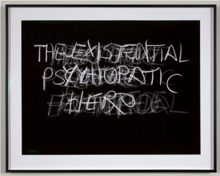 Mitchell Syrop, Existential (2010), via Ghebaly Gallery