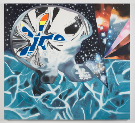 James Rosenquist, DNA in the Multiverse (2012), via Thaddaeus Ropac
