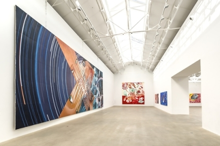 James Rosenquist, Four Decades (Installation), via Thaddaeus Ropac