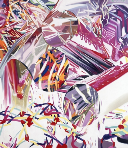 James Rosenquist, Coup d'Oeil - Speed of Light (2001), via Thaddaeus Ropac