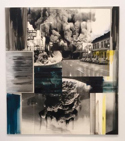 Lorna SImpson, Detroit (Ode to G.) (2016), via Art Observed