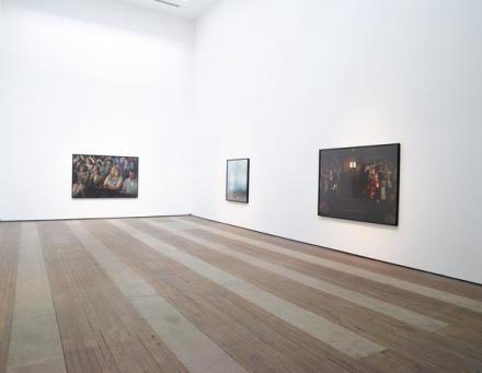 Alex Prager, La Grande Sortie (Installation View), via Lehman Maupin