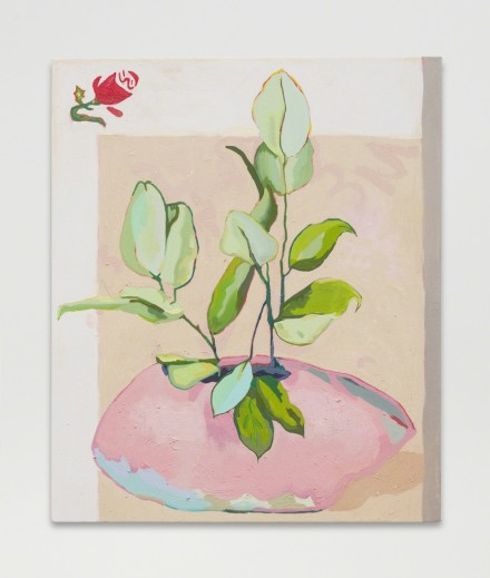 Alex Chaves, Flower Pot (2016), via Martos Gallery