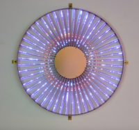 Leo Villareal, Radiant Wheel (2015), via Pace Gallery