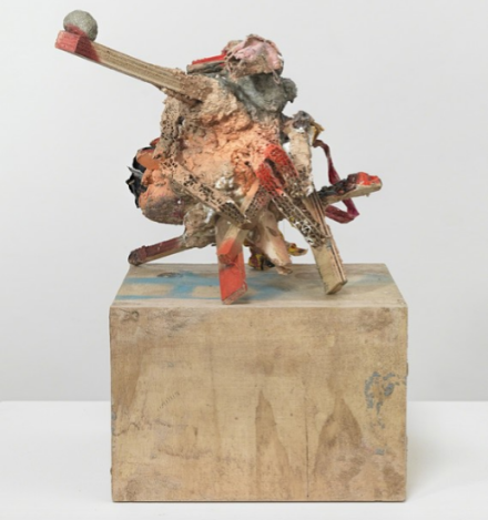 Phyllida Barlow, untitled: standup, 1 (2016), via Hauser and Wirth