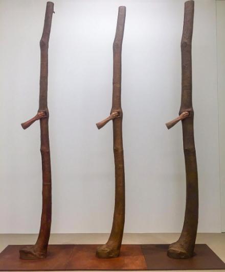 Giuseppe Penone, Trattenere 6, 8, 12 anni di crescita (Continuerà a crescere tranne che in quel punto) (2004-2016), via Art Observed