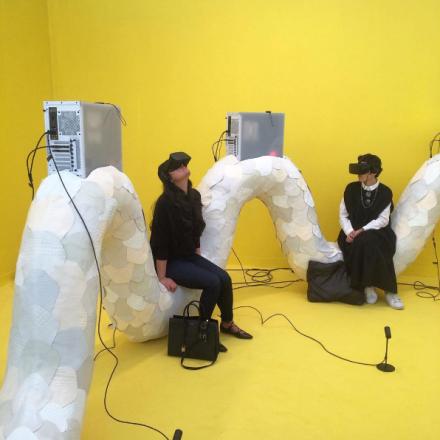 Jon Rafman at Seventeen Gallery, via Art Observed