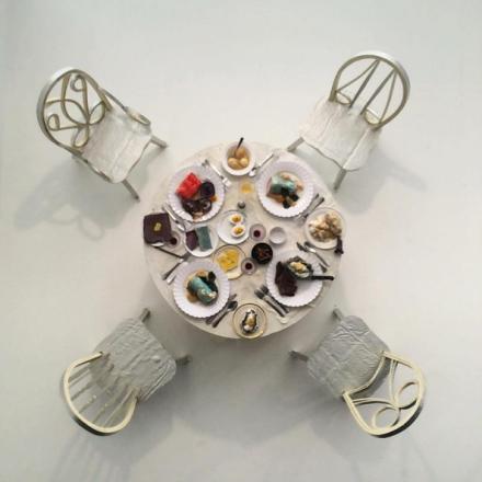 Samara Golden at Canada Gallery, via Art Observed