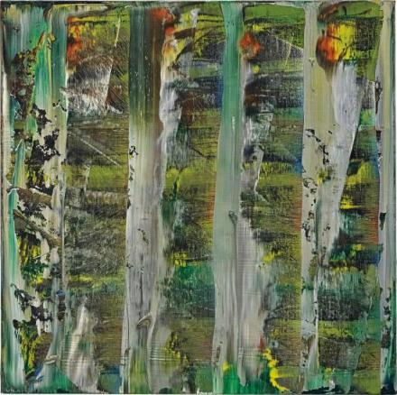 Gerhard Richter, Abstraktes Bild (767-2) (1992), via Phillips