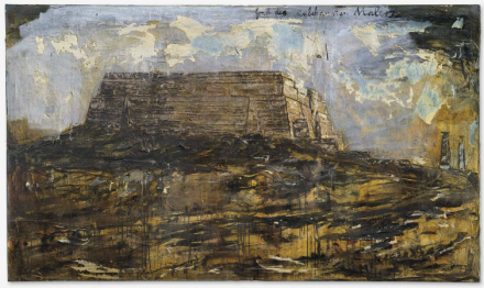 Anselm Kiefer, Grab des unbekannten Malers (Tomb of the Unknown Painter) (1983), via Christie's