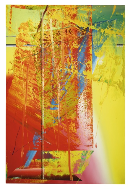 Gerhard Richter, Abstraktes Bild 593-8 (1986), via Sothebys