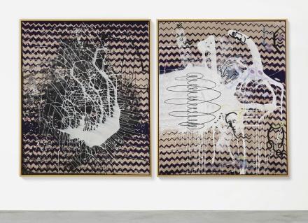 Sigmar Polke, Spirale (1985), via Sothebys