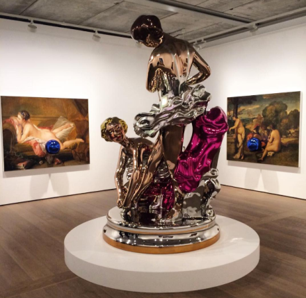 Jeff Koons (Installation View), via Art Observed