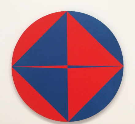 Carmen Herrera, Horizontal (1965), via Art Observed